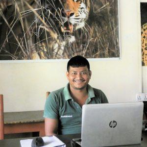 Host Manmohan Encounter with the Tiger virtual class